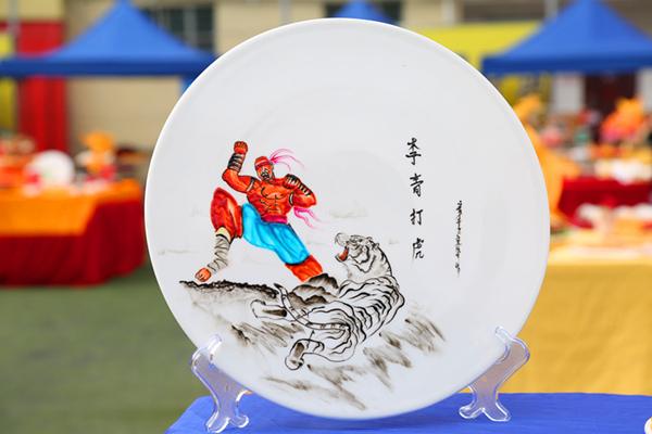 果酱画:李青大虎