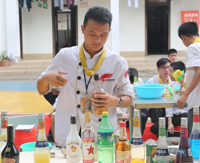 阶段教学-调酒考核